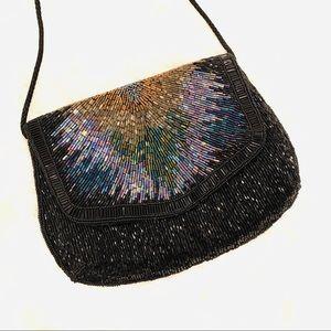 Gorgeous Dressy Beaded Purse/Clutch/Crossbody bag
